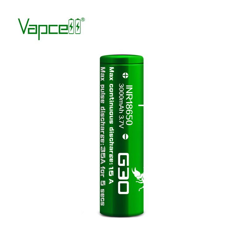 Батерия Vapcell 18650 G30 3000mah 15A, Sorbe.bg