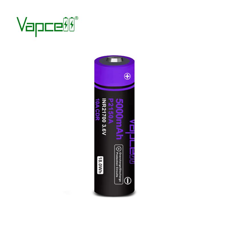 Батерия Vapcell P2150A 21700 5000mah 10A USB, Sorbe.bg Vapcell P2150A 21700 5000mah 10A с USB