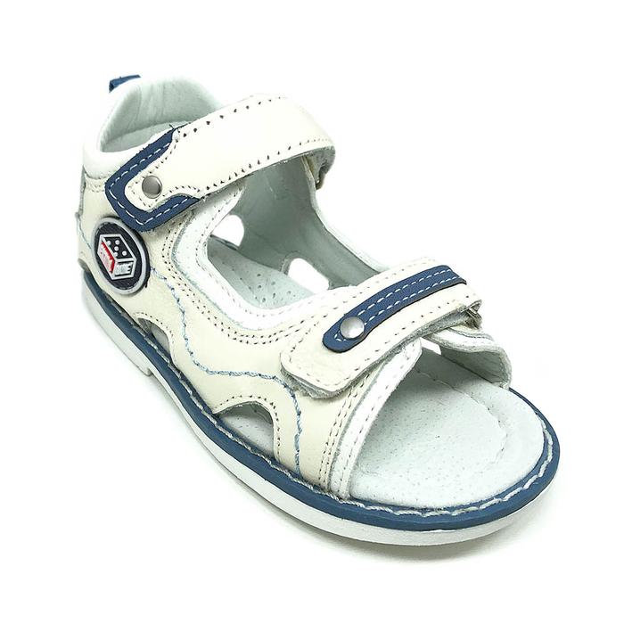 Детски сандали ab-3 white/l.blue