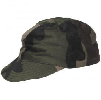 Армейска камуфлажна шапка с козирка - Франция