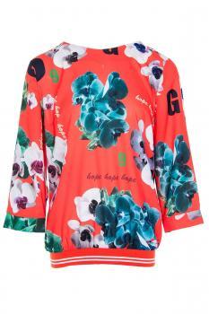 Блуза - красиви цветя