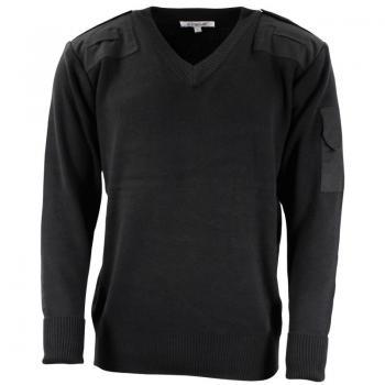 Британски пуловер- POLICE- черен, Армейски - Великобритания