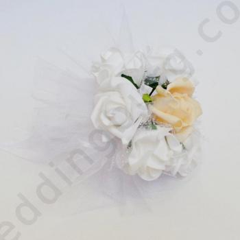 Букет за хвърляне с рози, модел BSH12