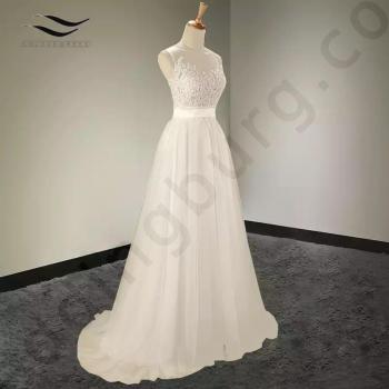 Булчинска рокля с дантела