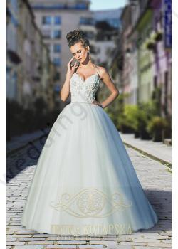 Булчинска рокля тип принцеса