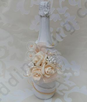 Бутилка, сватбено шампанско SH60