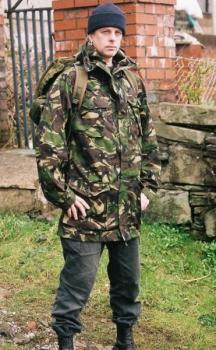 Военна шуба БЕЗ качулка, НОВА - Армейска, Англия, DPM камуфлаж, Армейски - Великобритания