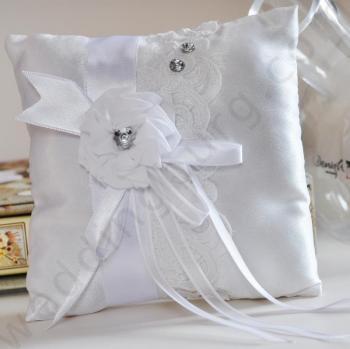 Възглавничка за сватбени халки BX020