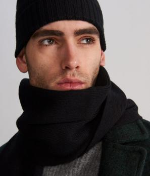 Комплект вълнен шал и шапка Reserved