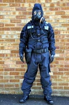 Гащеризон, тъмно син, Британска полиция, Борба с безредици, Армейски - Великобритания