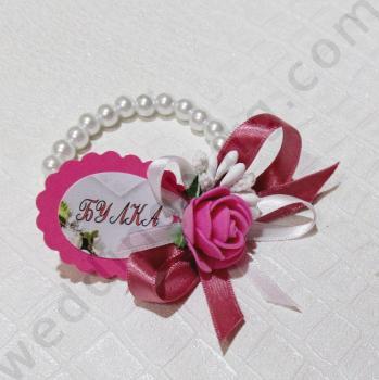 Гривни за моминско парти с перли, модел GB014