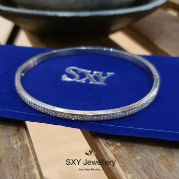 Дамска гривна от медицинска стомана SB0367