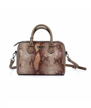 Дамска чанта със змииски десен Xti