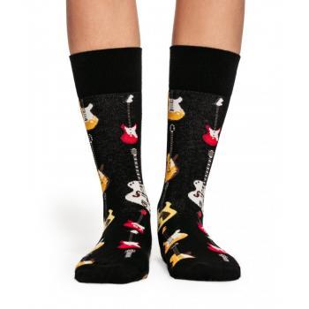 Дамски памучни чорапи с мотив на китари
