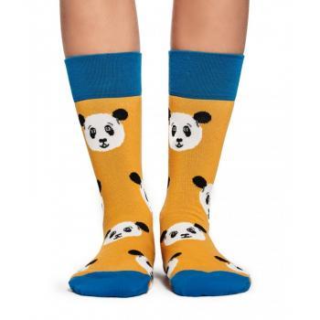 Дамски памучни чорапи с мотив на панди