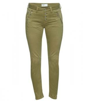 Дамски панталон в тютюнев цвят Pulz