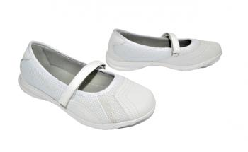 Дамски пантофки в бяло 316