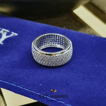 Дамски пръстен от медицинска стомана SR1947
