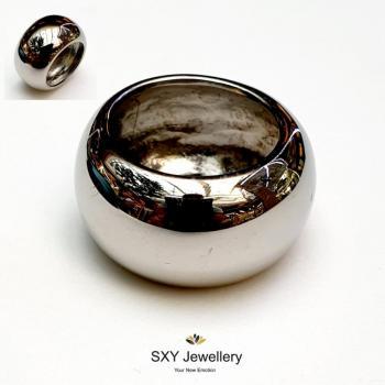 Дамски пръстен от медицинска стомана SR4133