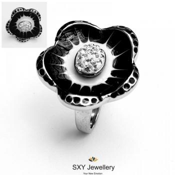 Дамски пръстен от стомана SR1415