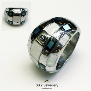 Дамски пръстен от стомана SR4122