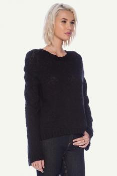 Дамски пуловер в черно Cheap Monday