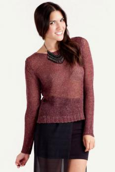 Дамски пуловер от рехаво плетиво Cheap Monday