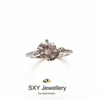 Дамски сребърен пръстен SR2842