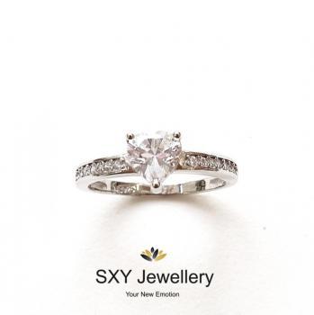Дамски сребърен пръстен SR2852