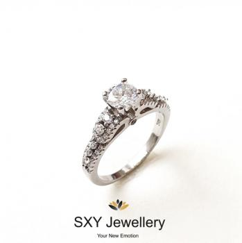 Дамски сребърен пръстен SR2853