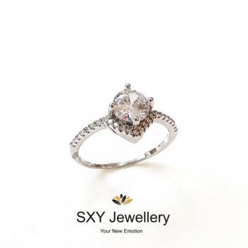 Дамски сребърен пръстен SR2854