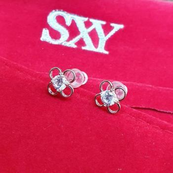 Дамски сребърни обеци SE3061