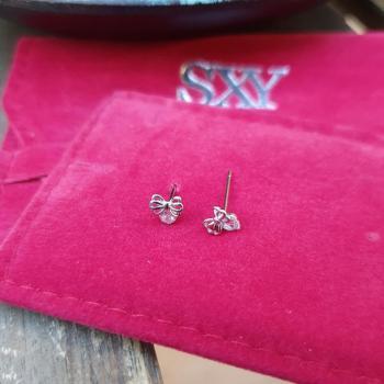 Дамски сребърни обеци SE3071