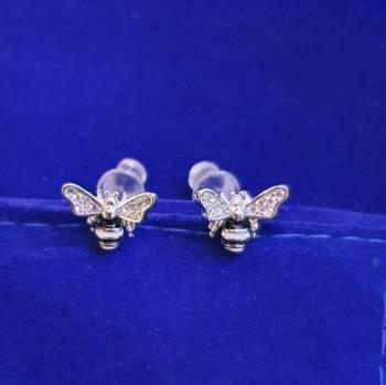 Дамски сребърни обеци SE3074