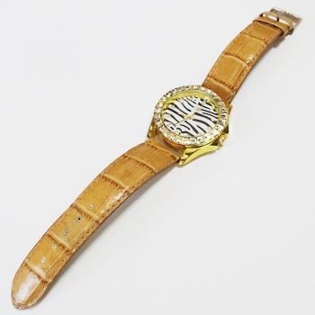 Дамски часовник с каишка естествена кожа