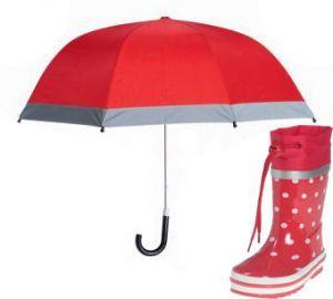 Детски гумени ботуши и чадър red