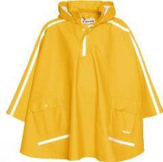 Детски дъждобран пончо yellow