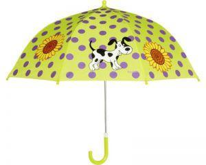 Детски чадър за момиче кученце