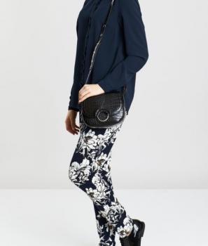 Ежедневен панталон с флорален десен Ichi