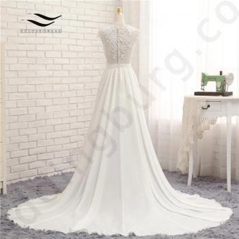 Ефирна булчинска рокля