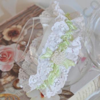 Жартиер за сватба J006