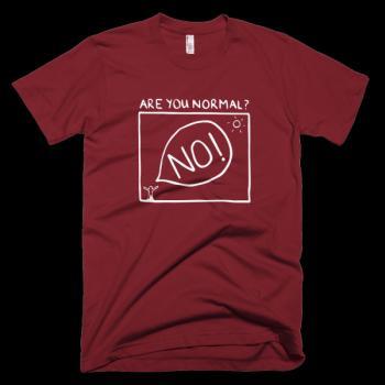 Забавни тениски Are you normal