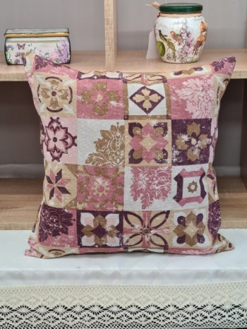 Калъфка за декоративна възглавница &8211 брик пепел от рози vany design