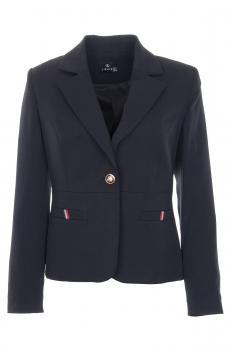 Класическо черно дамско сако