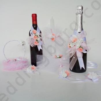 Комплект подвижна сватбена украса KU01
