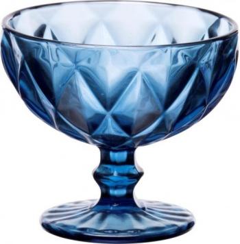 Комплект 6 купички за сладолед на столче kare blue &8211 310 ml