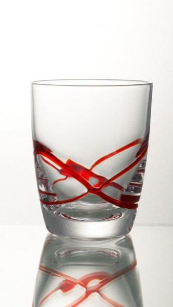 Комплект 6 чаша за уиски &8211 350 мл серия: x &8211 tream red