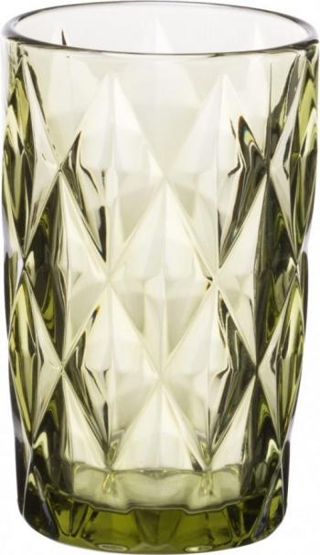 Комплект 6 чаши за вода kare green &8211 330 ml