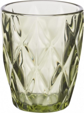 Комплект 6 чаши за уиски kare green &8211 230 ml