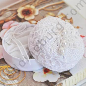 Кутийка за сватбени халки K013